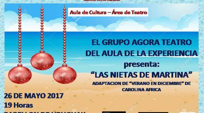 Ágora Teatro presenta 'Las nietas de Martina'
