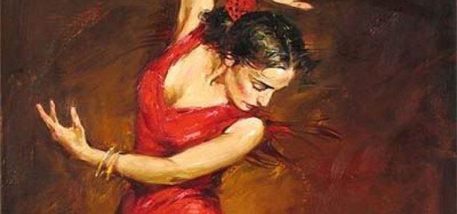 Espectáculo de baile flamenco