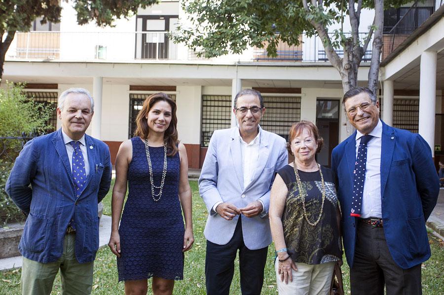 Visita del Rector de la Universidad de Sevilla