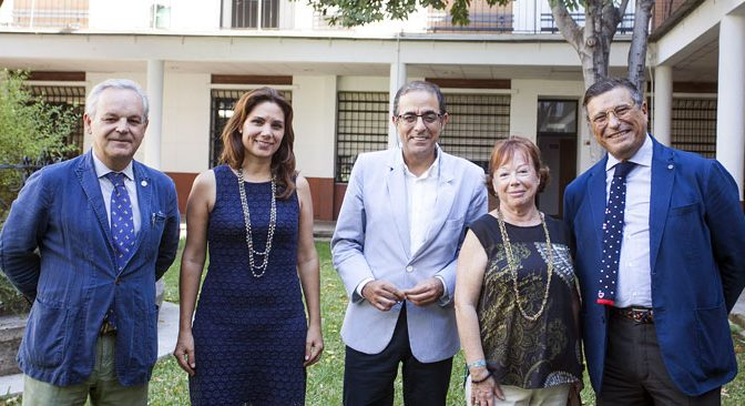 Visita del Rector de la Universidad de Sevilla (portada)