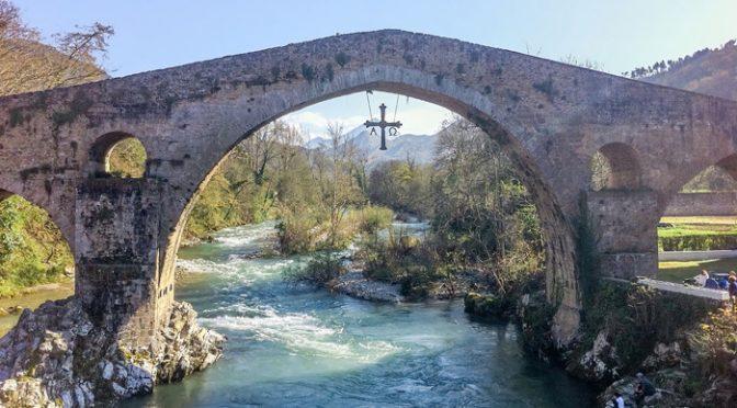 Puente Romano de Cangas de Onís (Asturias)