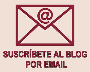 Suscríbete al blog por email