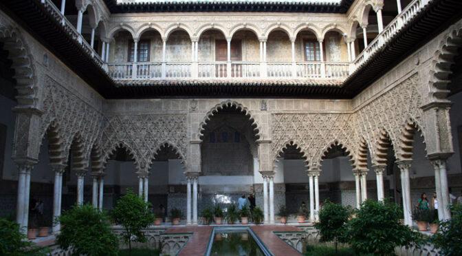 Visita nocturna teatralizada al Alcázar de Sevilla