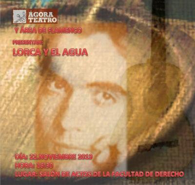 Cartel de la obra 'Lorca y el agua'