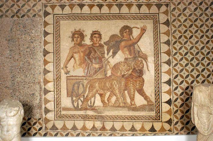 Mosaico del Triunfo de Baco (s. III d.C.)