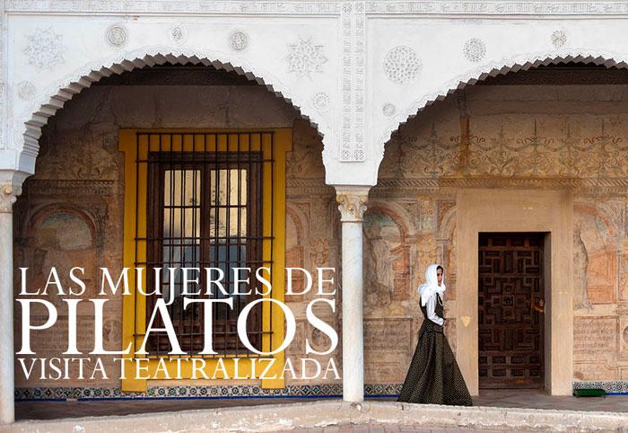 Visita teatralizada 'Las mujeres de Pilatos' (fotografía: Antonio del Junco)
