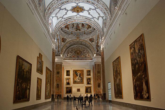 Interior del Museo de Bellas Artes de Sevilla