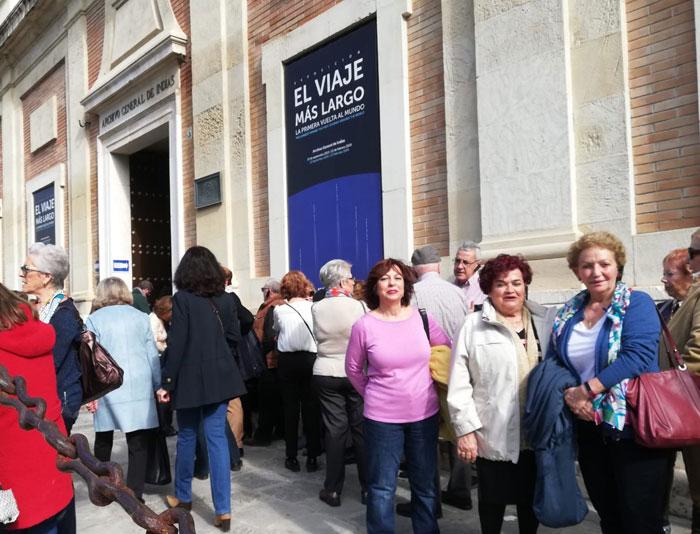 Visita a la exposición sobre Magallanes (febrero 2020)