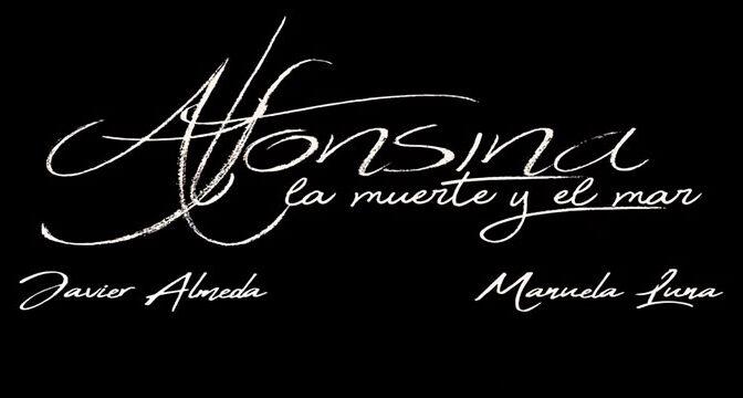 Cartel de la obra de teatro 'Alfonsina, la muerte y el mar'